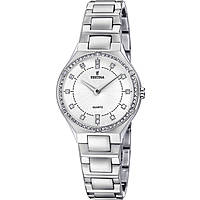 watch only time woman Festina Acero Clasico F20225/1