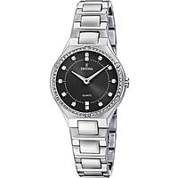 watch only time woman Festina Acero Clasico F20225/2