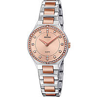watch only time woman Festina Acero Clasico F20226/4