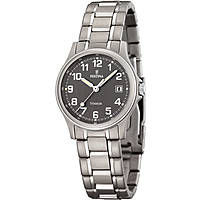 watch only time woman Festina Calendario Titanium F16459/2