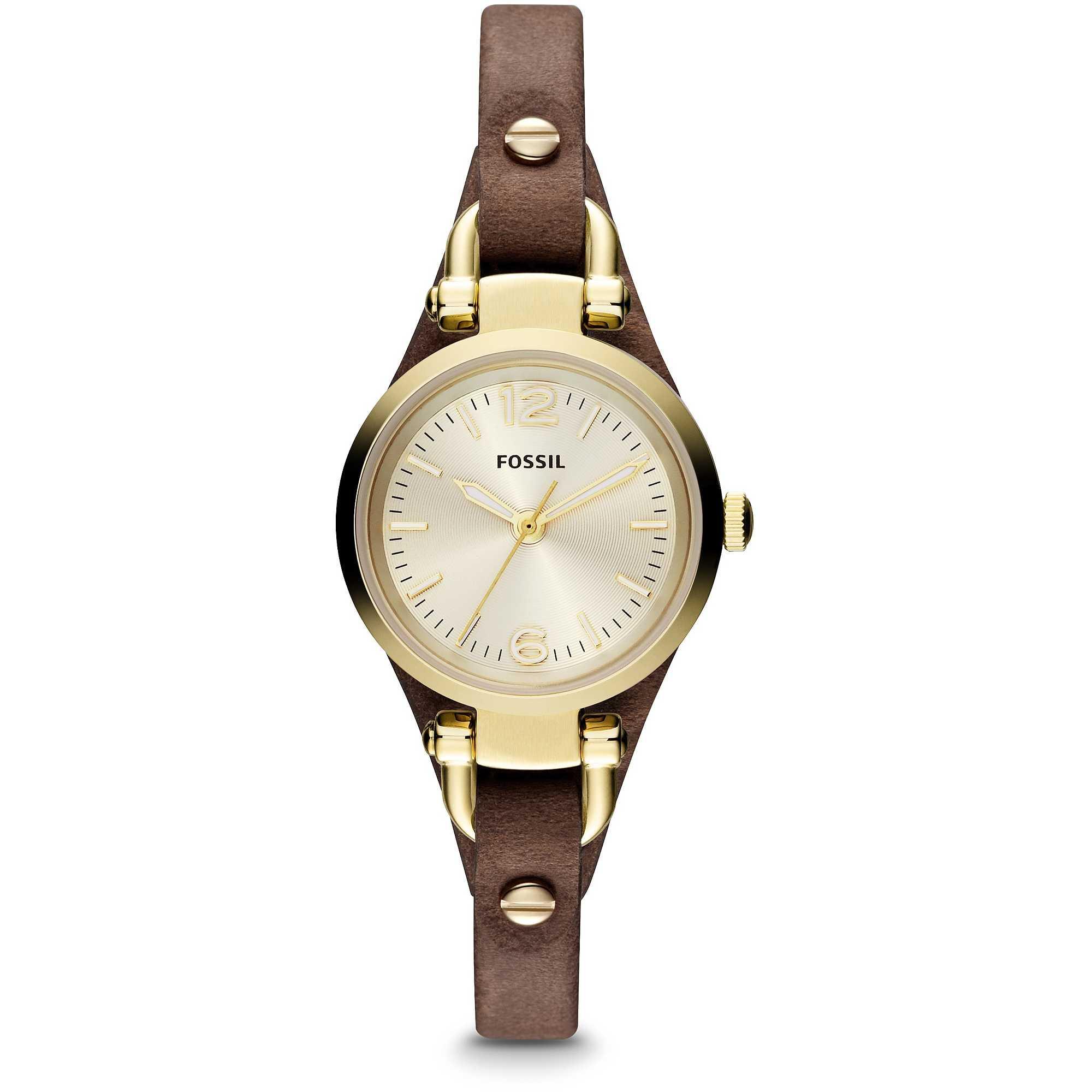 Watch Only Time Woman Fossil Georgia Mini Es3264 Es3862 Original Zoom