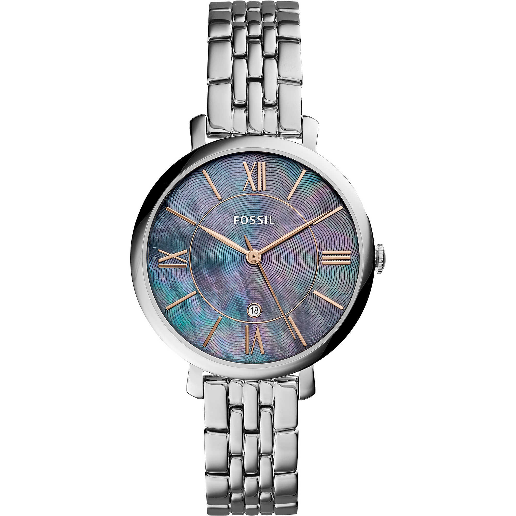 ladies products fossil jacqueline watch watches promenade
