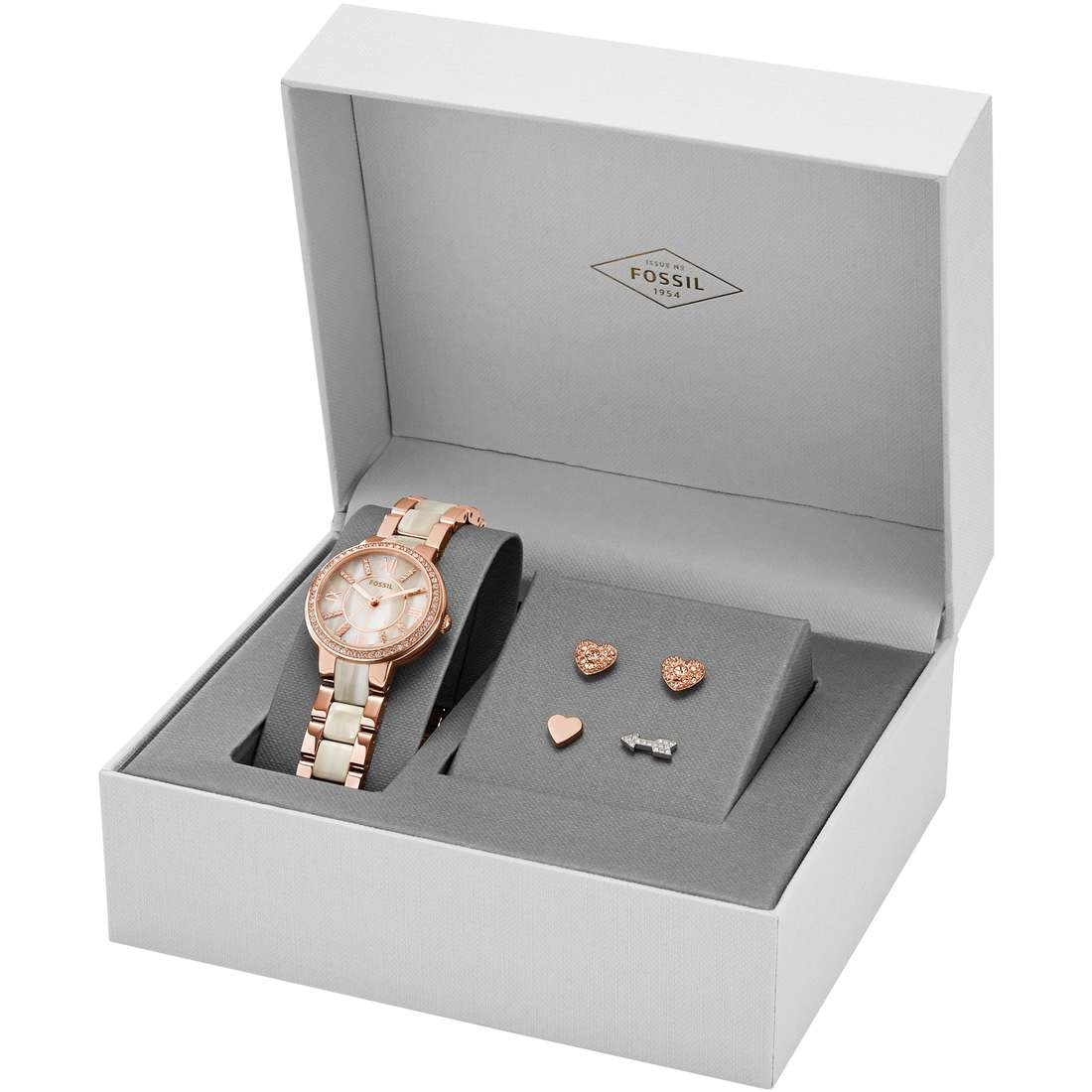 watch only time woman Fossil Virginia Box Set ES3965SET
