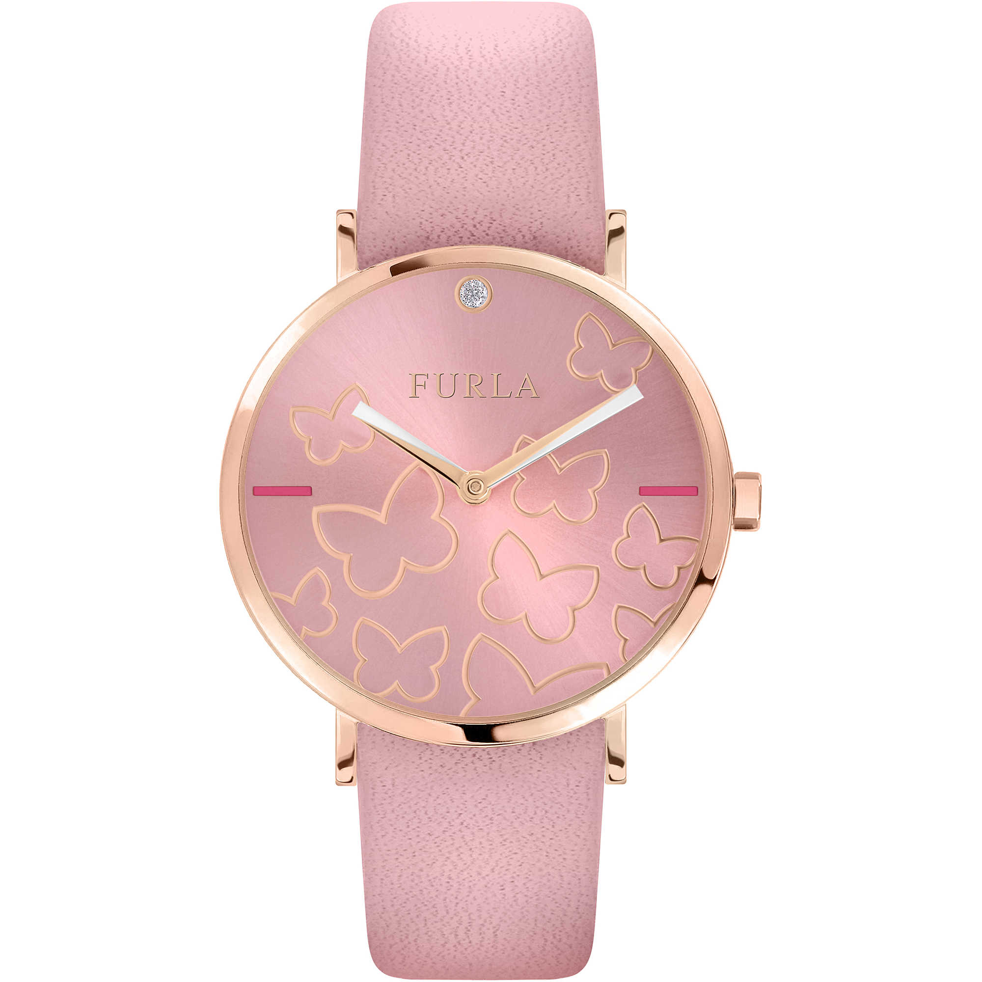 free pratt vintage shipping s flowers womens product olivia women style watch butterfly on watches orders overstock butterflies leather over and jewelry
