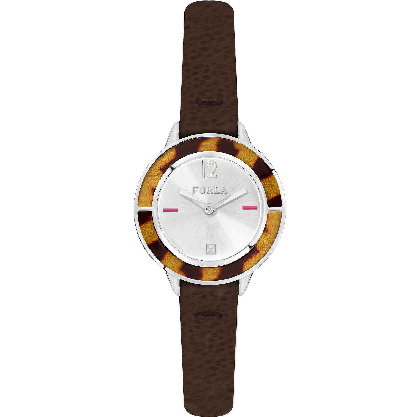 Watch Only Time Woman Furla Club R4251109520 Brown Zoom