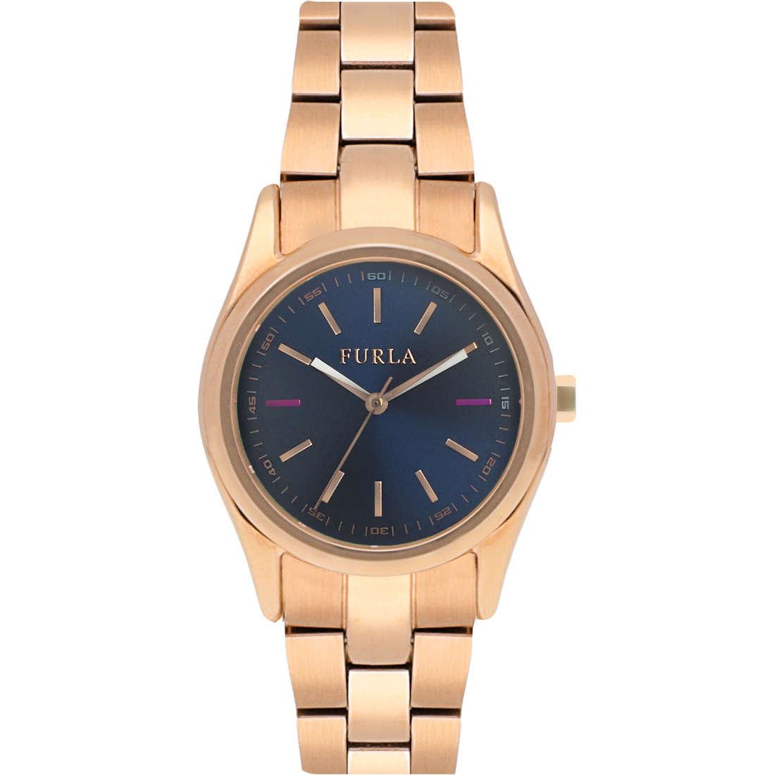 watch only time woman Furla Eva R4253101501