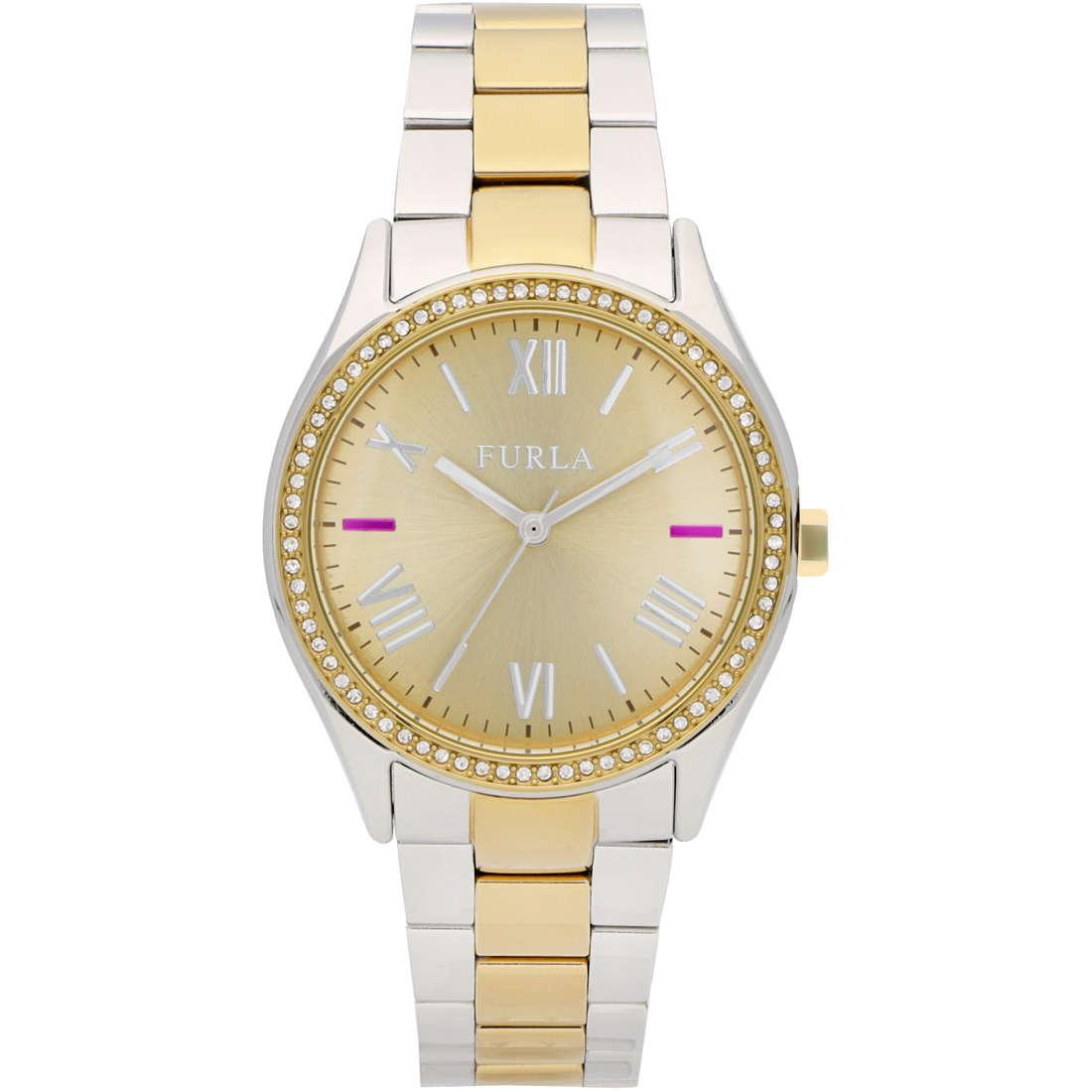watch only time woman Furla Eva R4253101514