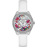 watch only time woman Guess Fleur W0905L1
