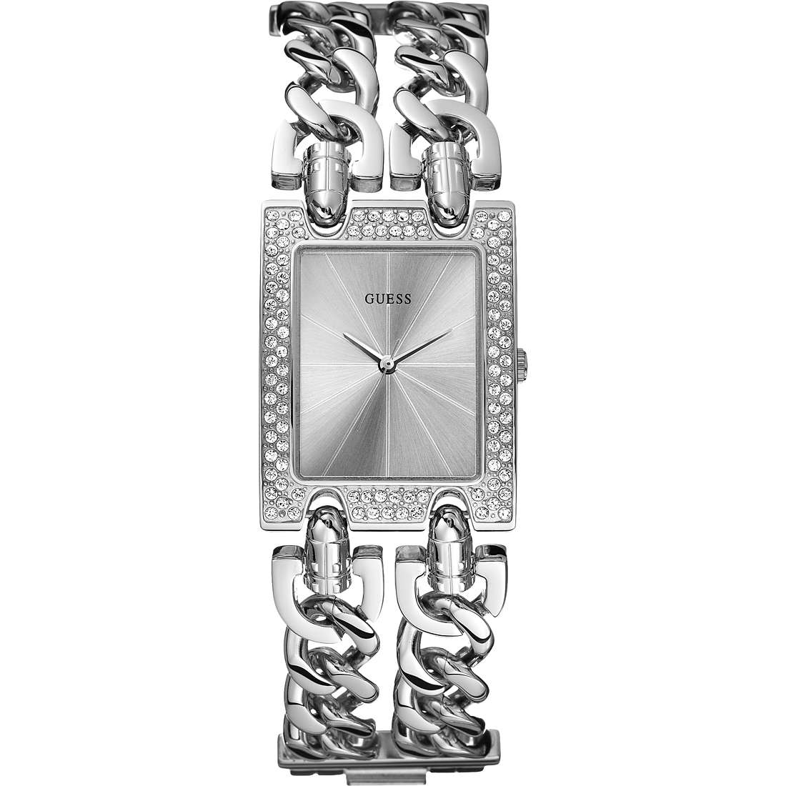 watch only time woman Guess Glamour Chain W0312L1