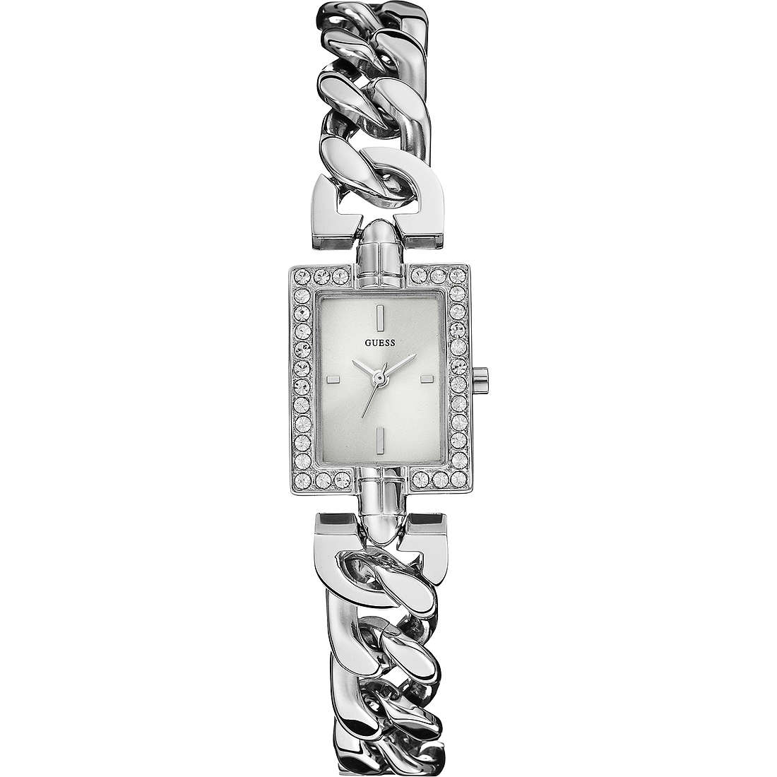 watch only time woman Guess Glamour Chain W0540L1
