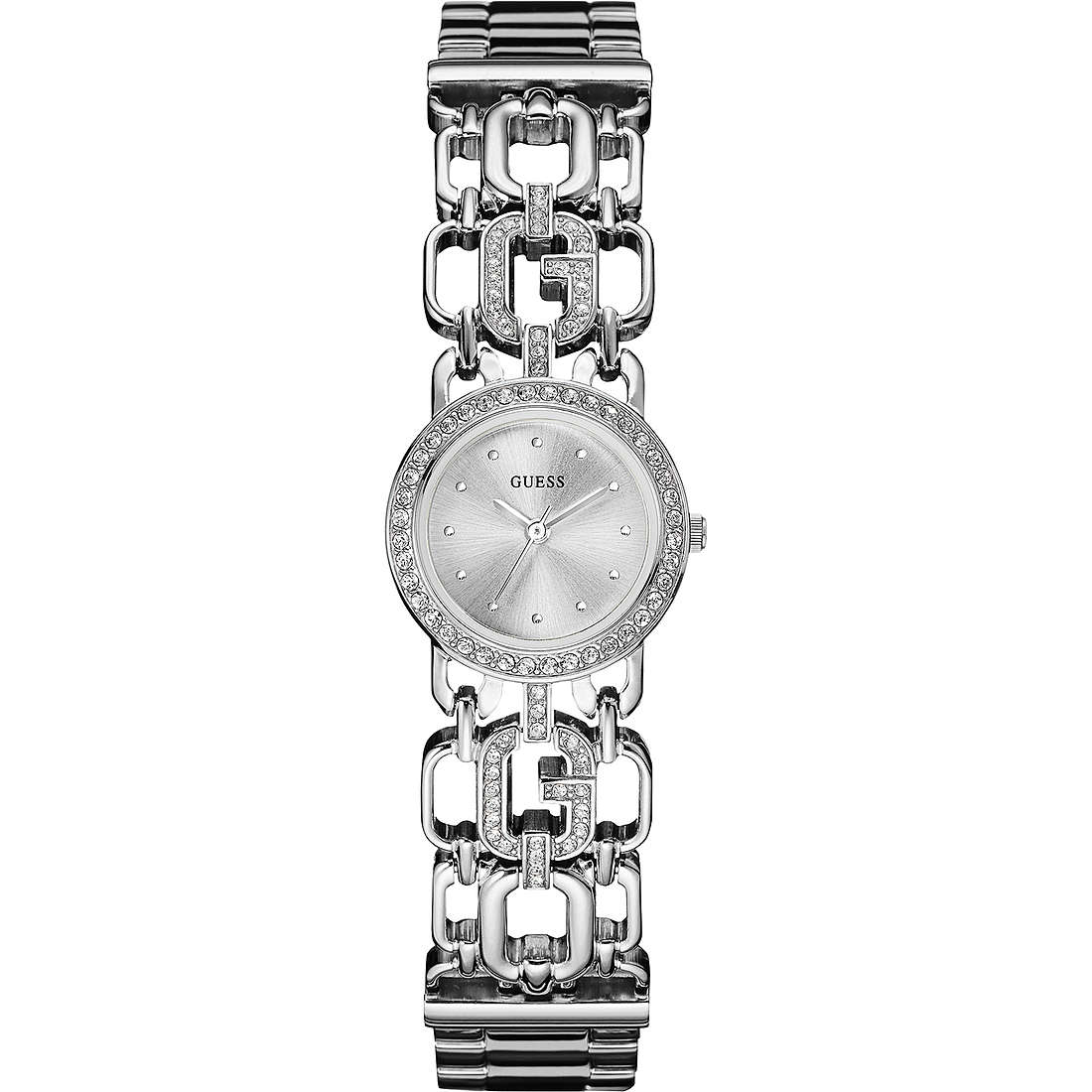 watch only time woman Guess Glamour Chain W0576L1