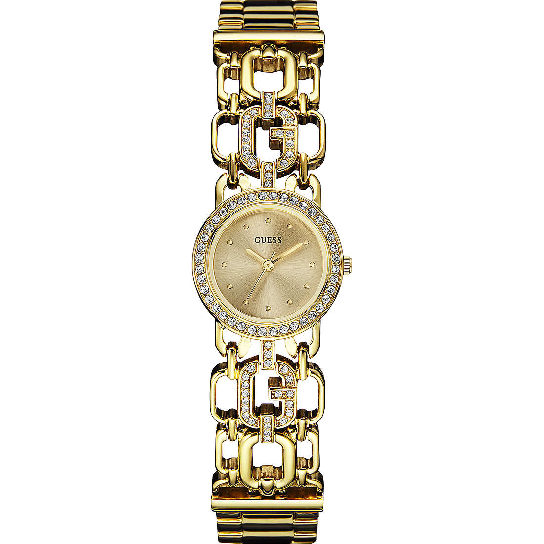 watch only time woman Guess Glamour Chain W0576L2