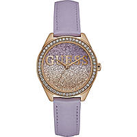 watch only time woman Guess Glitter Girl W0823L11