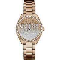 watch only time woman Guess Glitter Girl W0987L3