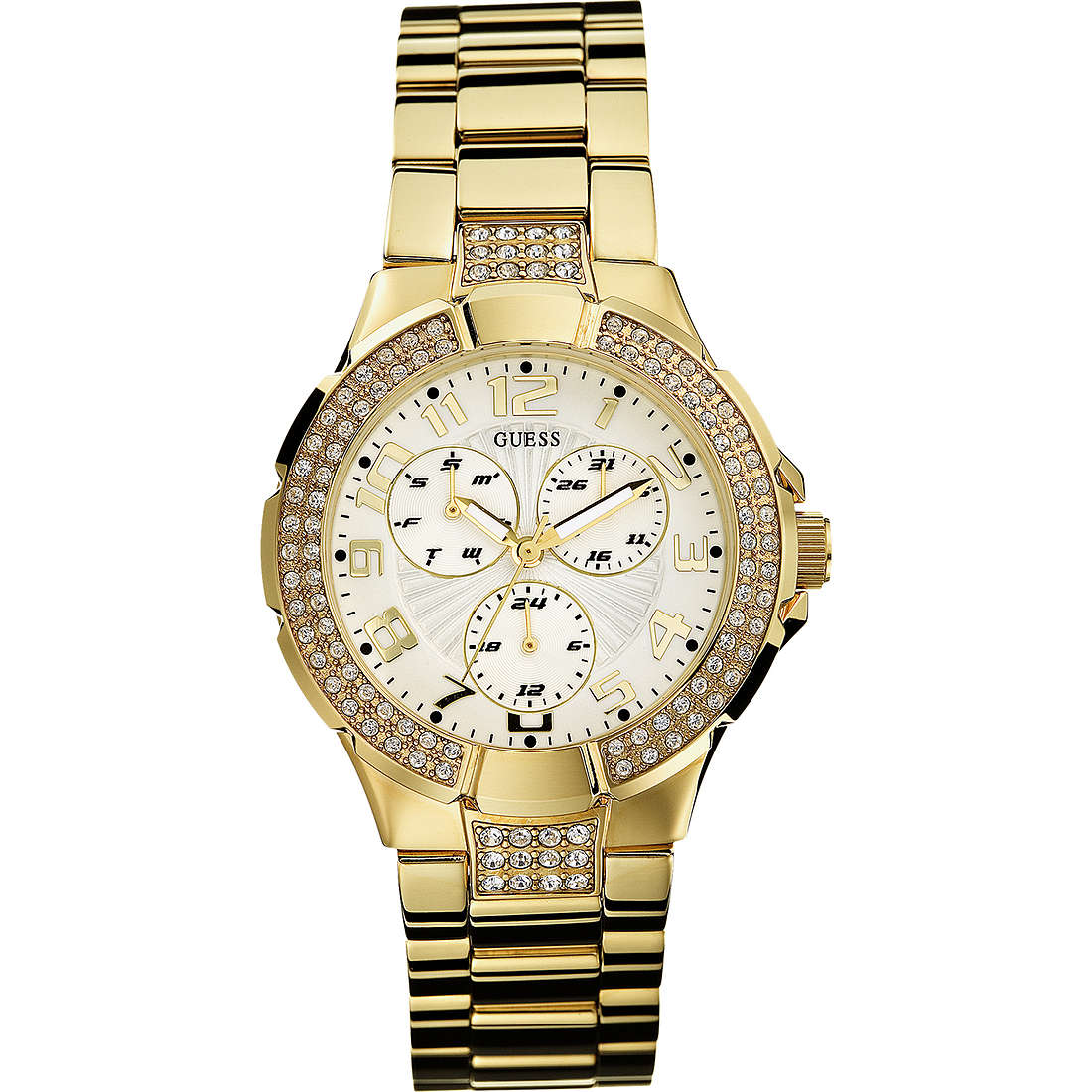 watch only time woman Guess I16540L1