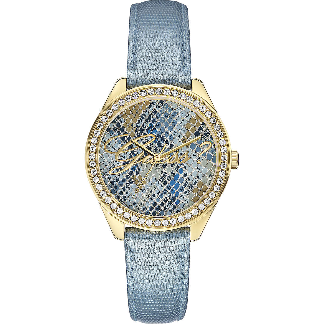 watch only time woman Guess Ice Blue W0612L1