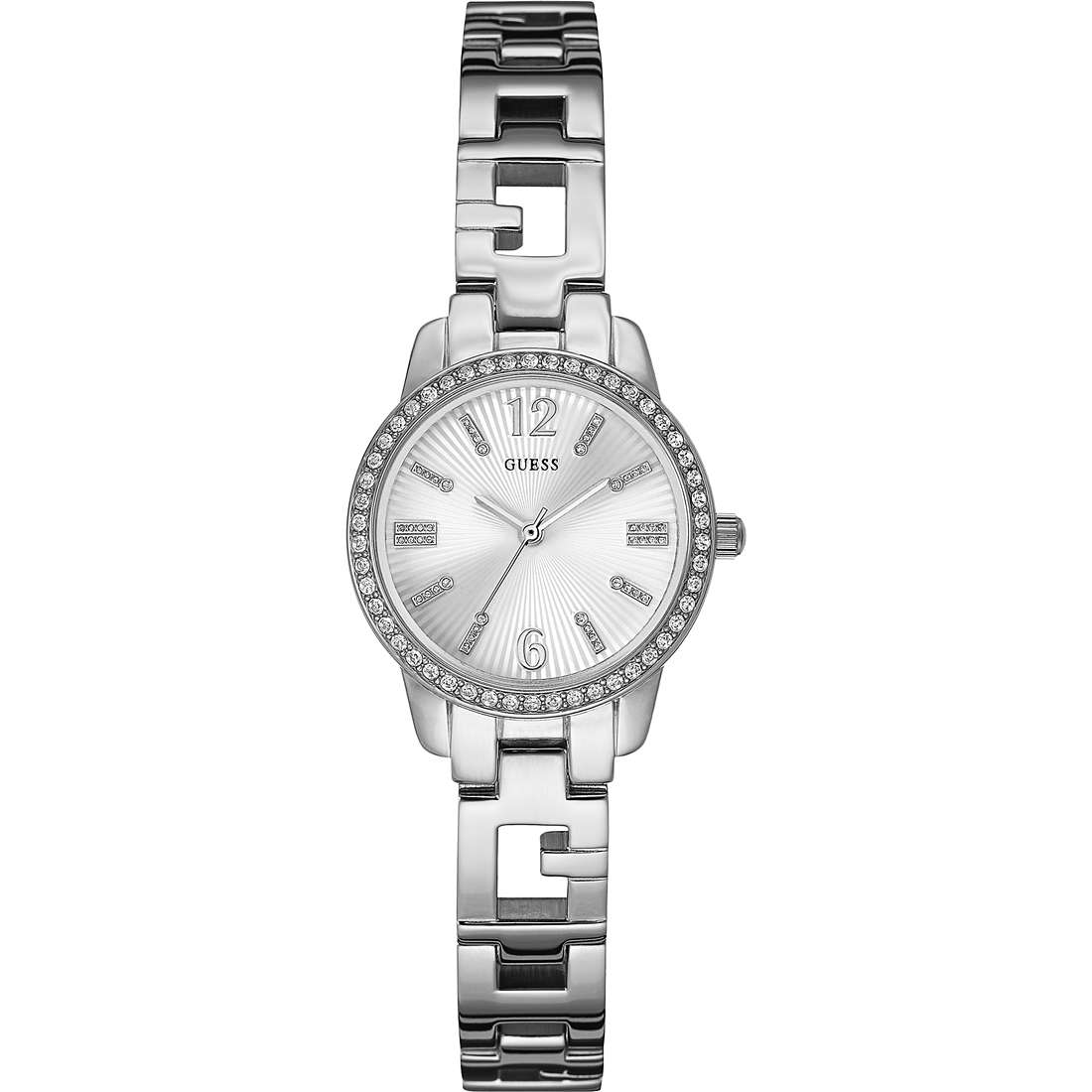 watch only time woman Guess Ladies Blue W0568L1