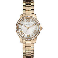 watch only time woman Guess Rose Gold W0444L3