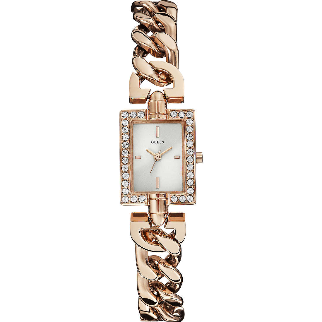 watch only time woman Guess Rose Gold W0540L3