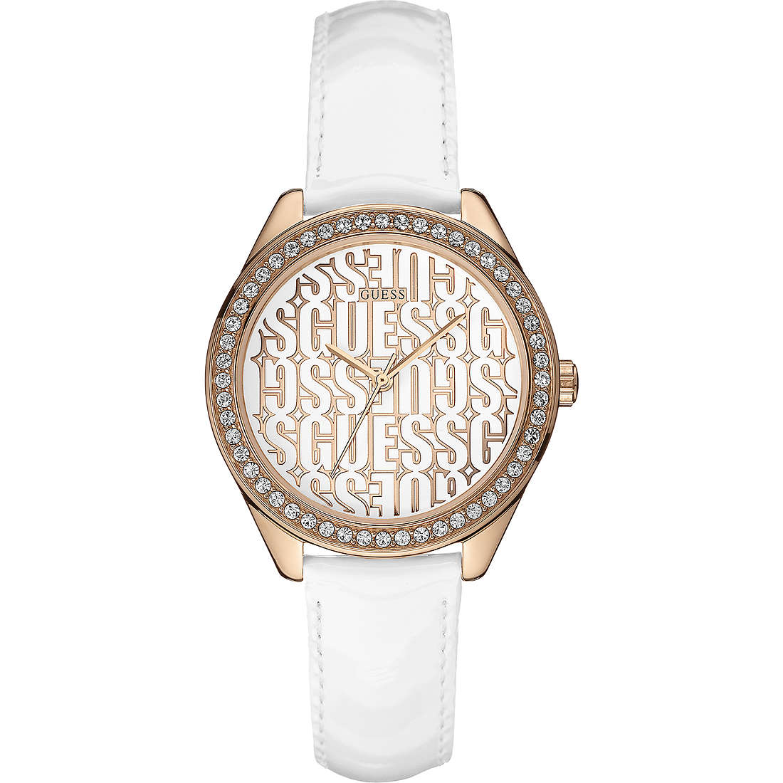 watch only time woman Guess Rose Gold W0560L3