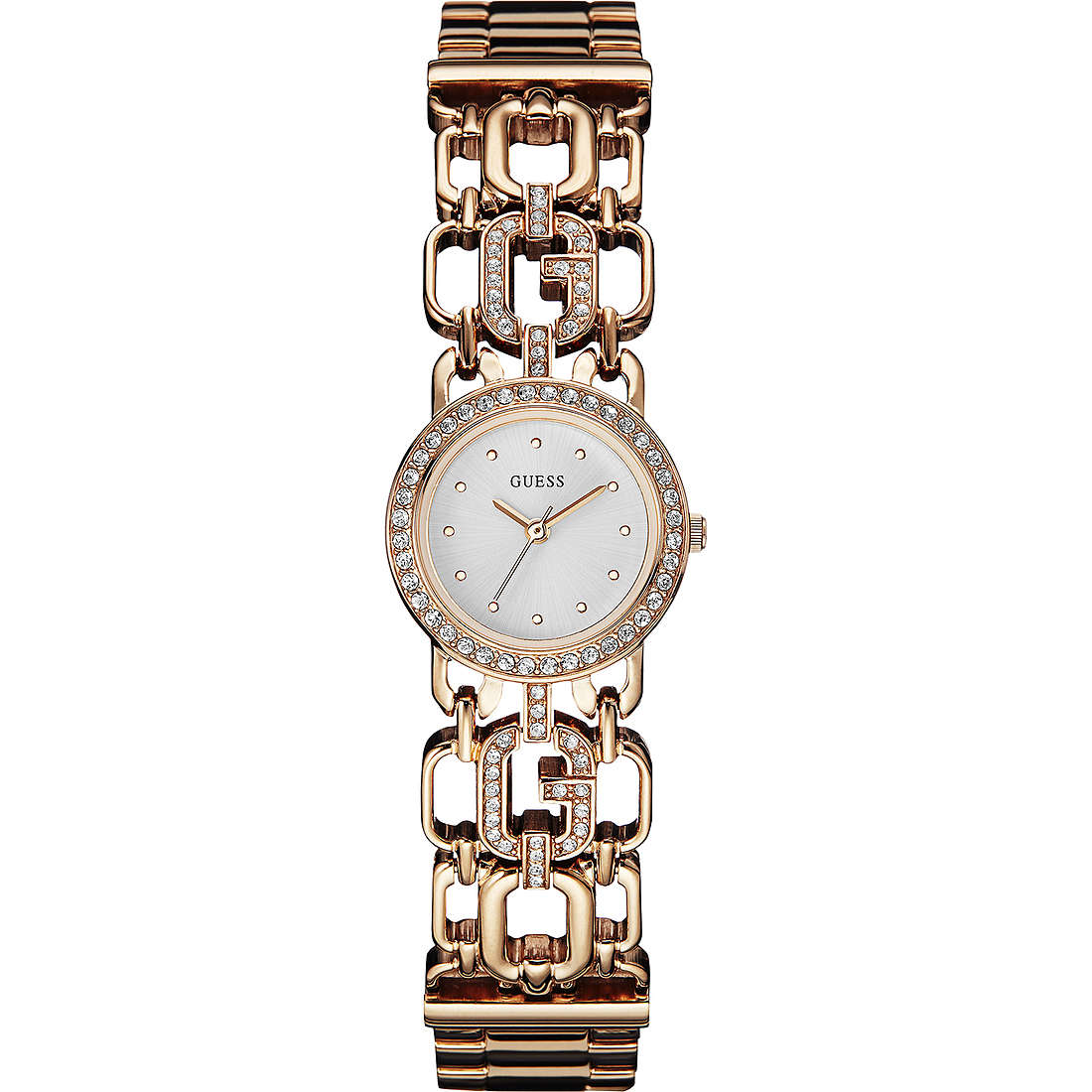 watch only time woman Guess Rose Gold W0576L3