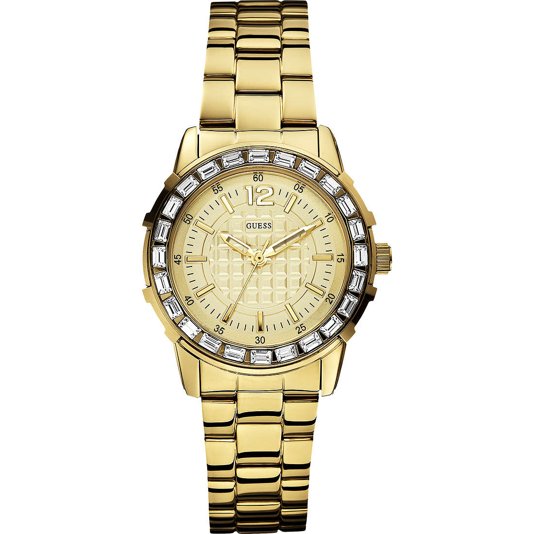watch only time woman Guess W0018L2