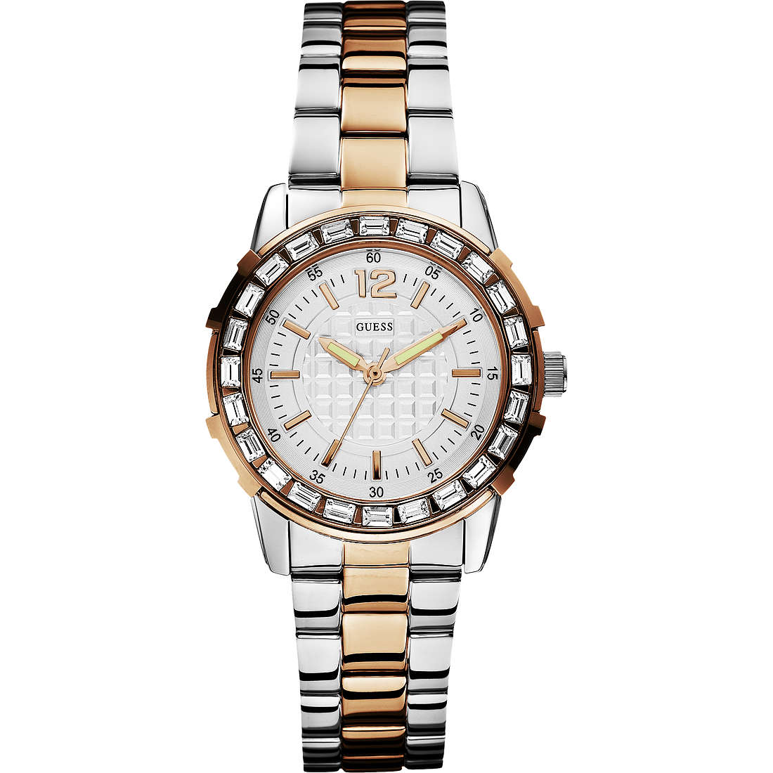 watch only time woman Guess W0018L3