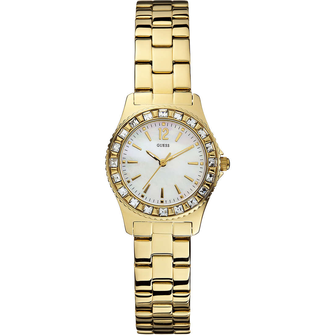 watch only time woman Guess W0025L2