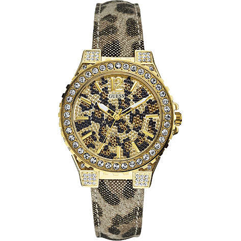 watch only time woman Guess W0030L1