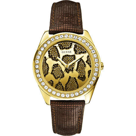 watch only time woman Guess W0056L2