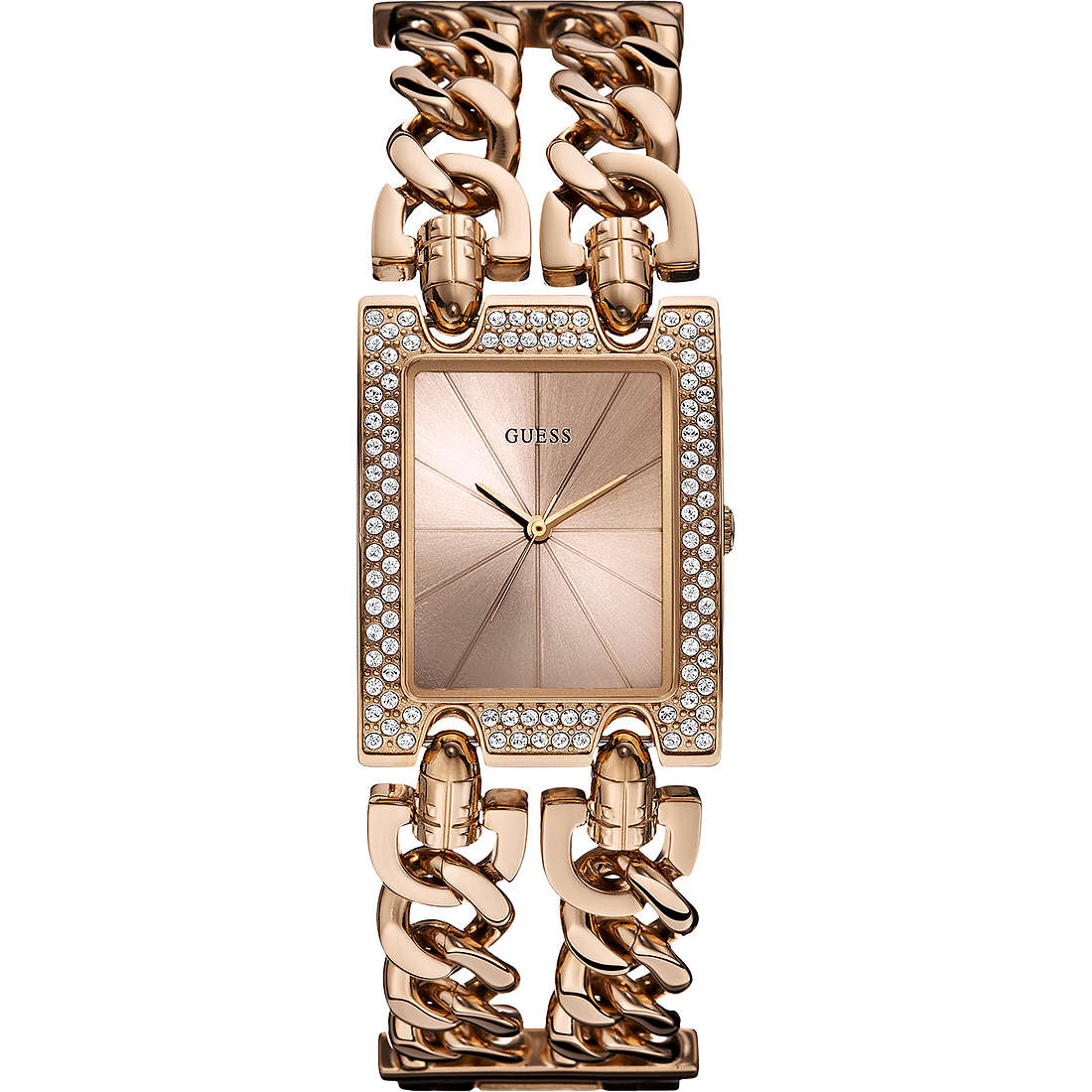 watch only time woman Guess W0072L3