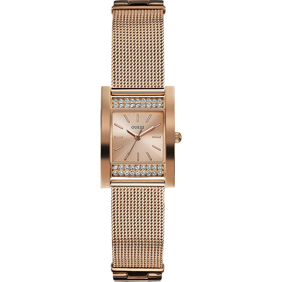 watch only time woman Guess W0127L3