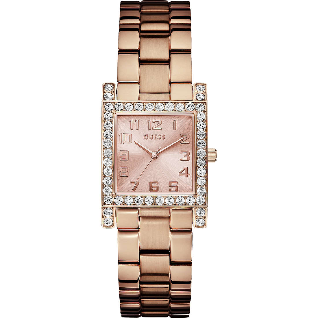 watch only time woman Guess W0128L3