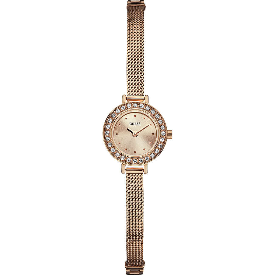 watch only time woman Guess W0133L3
