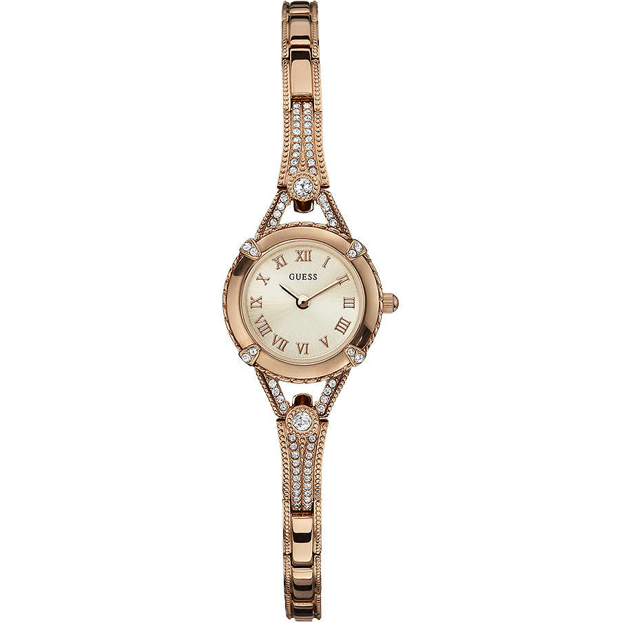 watch only time woman Guess W0135L3