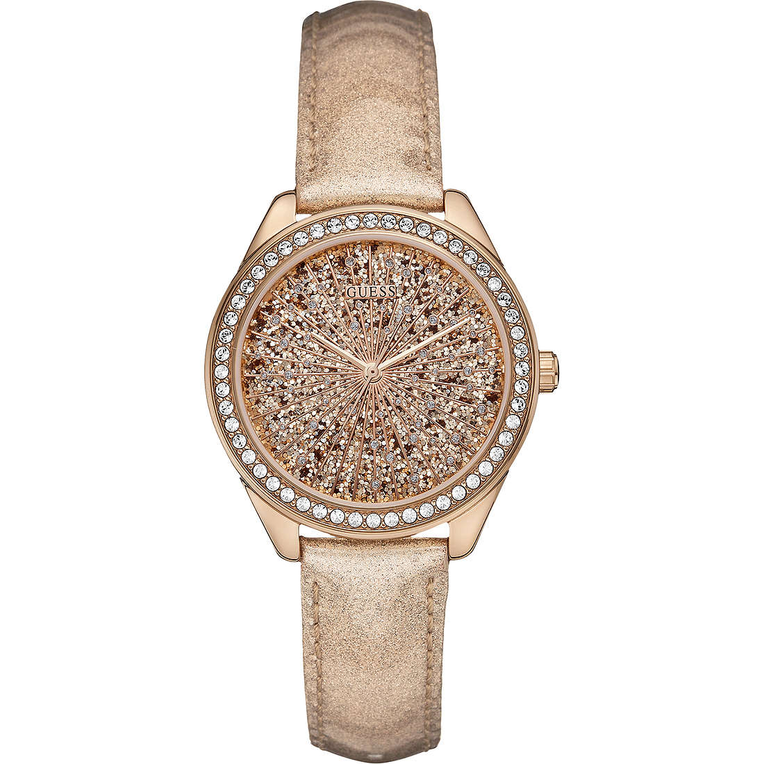 watch only time woman Guess W0156L1