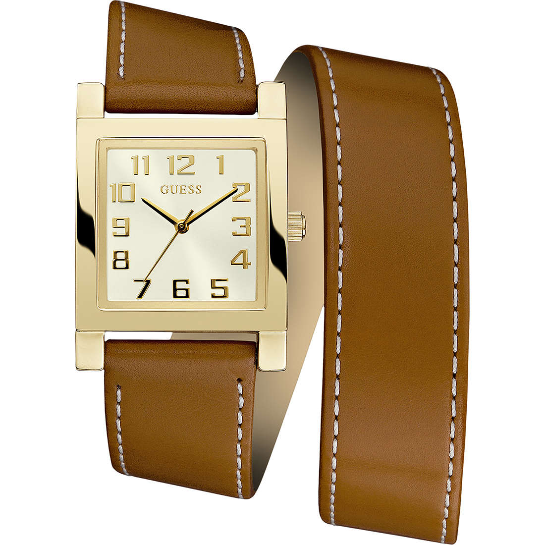 watch only time woman Guess W0157L1