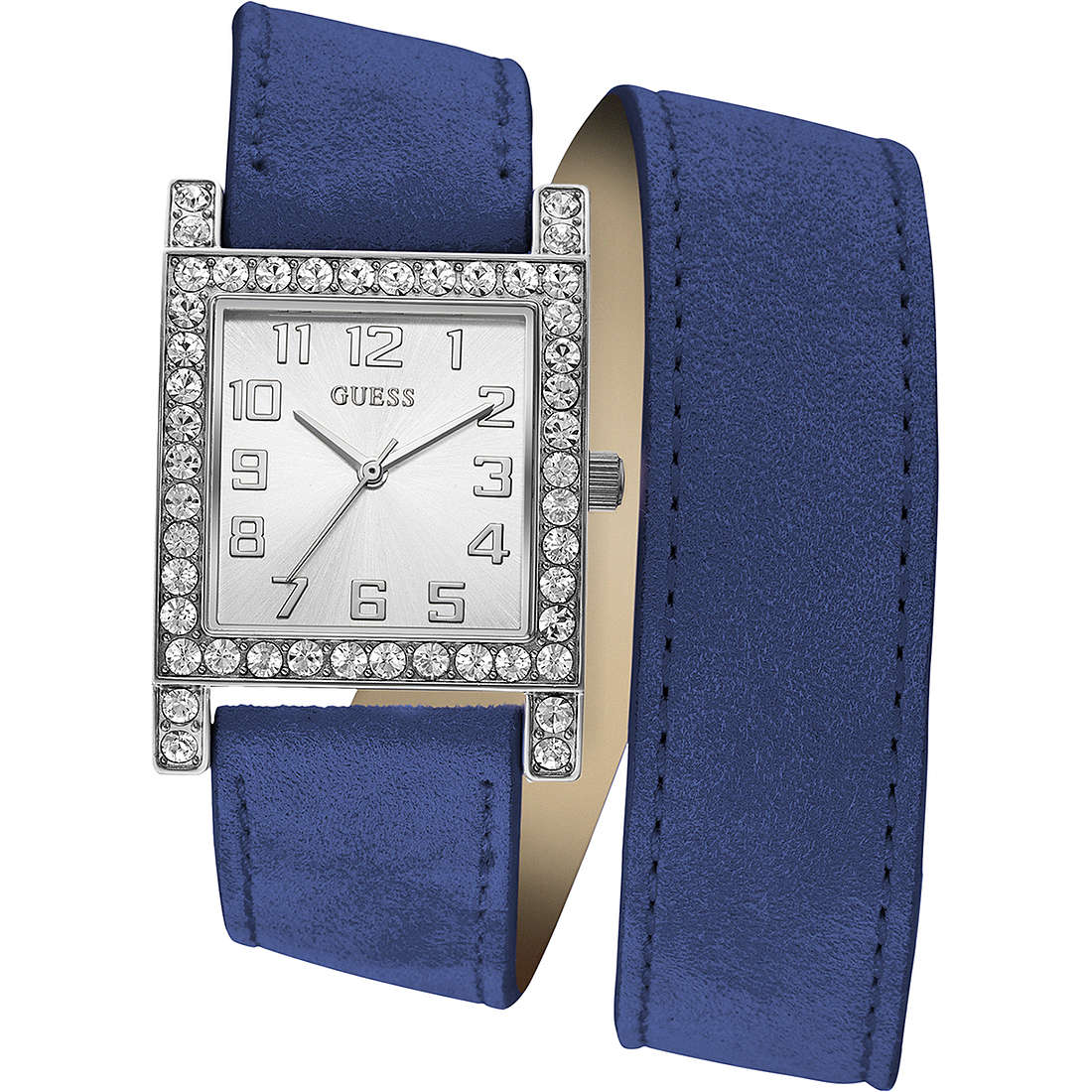 watch only time woman Guess W0158L1