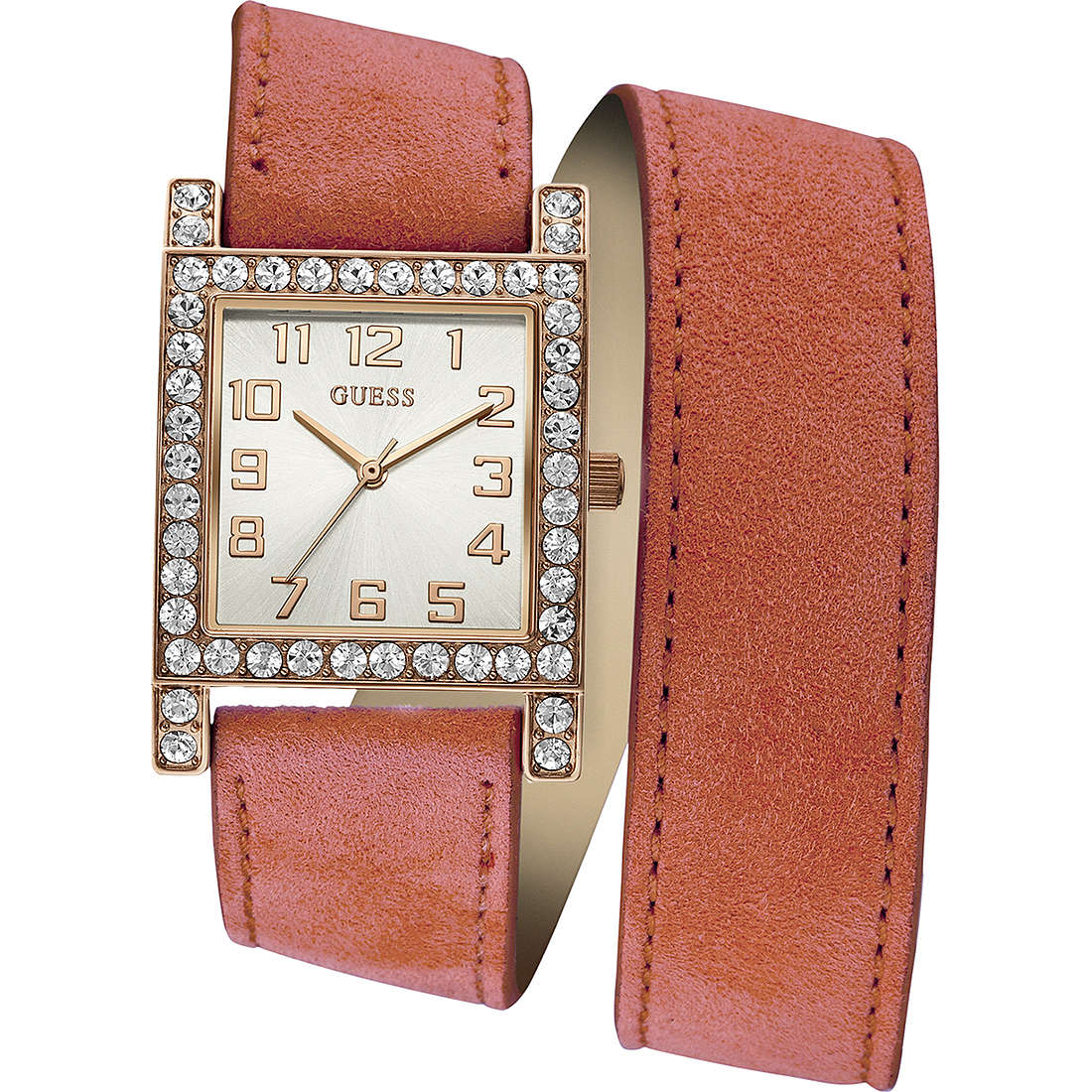 watch only time woman Guess W0158L2