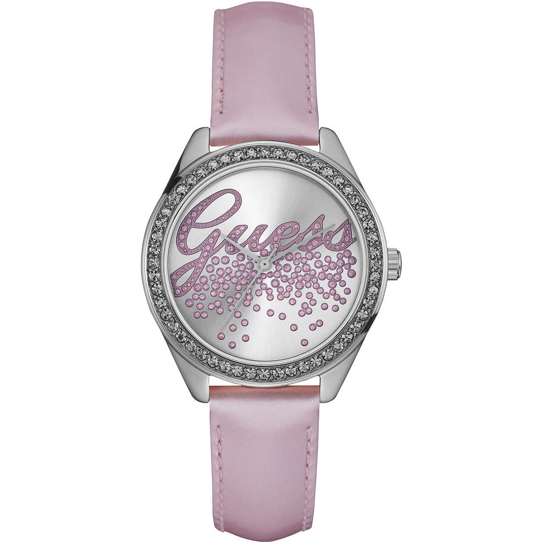 watch only time woman Guess W0161L4