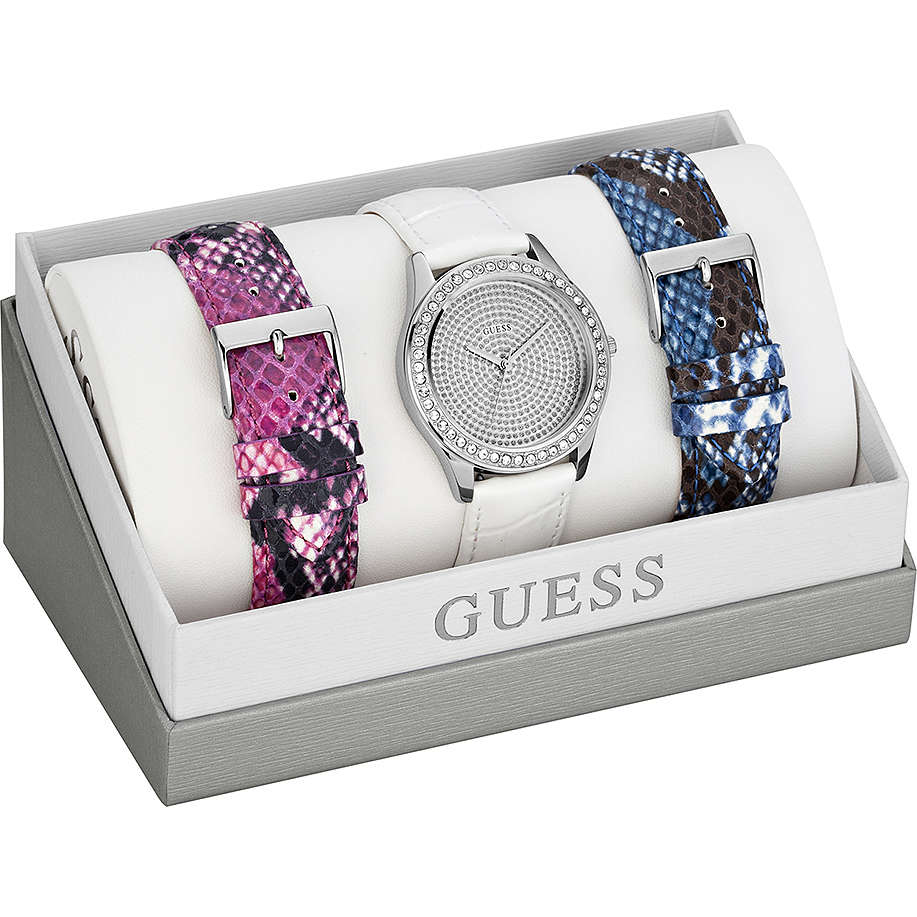 watch only time woman Guess W0164L1