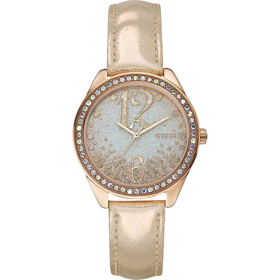 watch only time woman Guess W0338L1