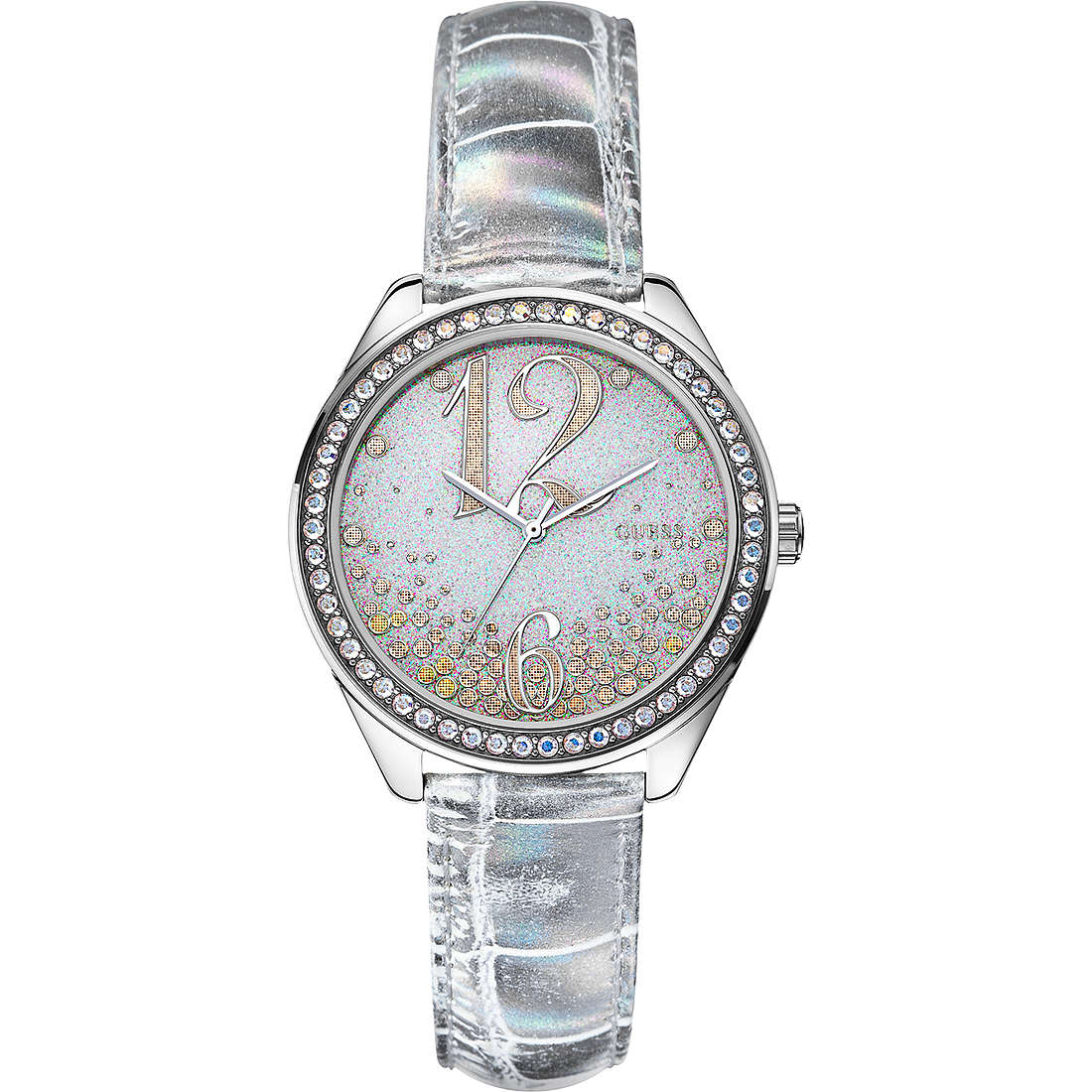 watch only time woman Guess W0338L2