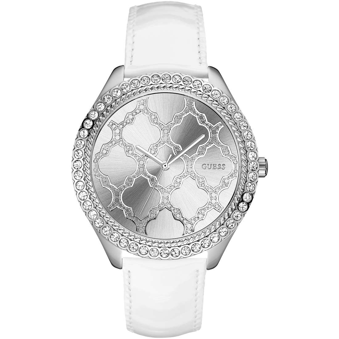 watch only time woman Guess W0579L3