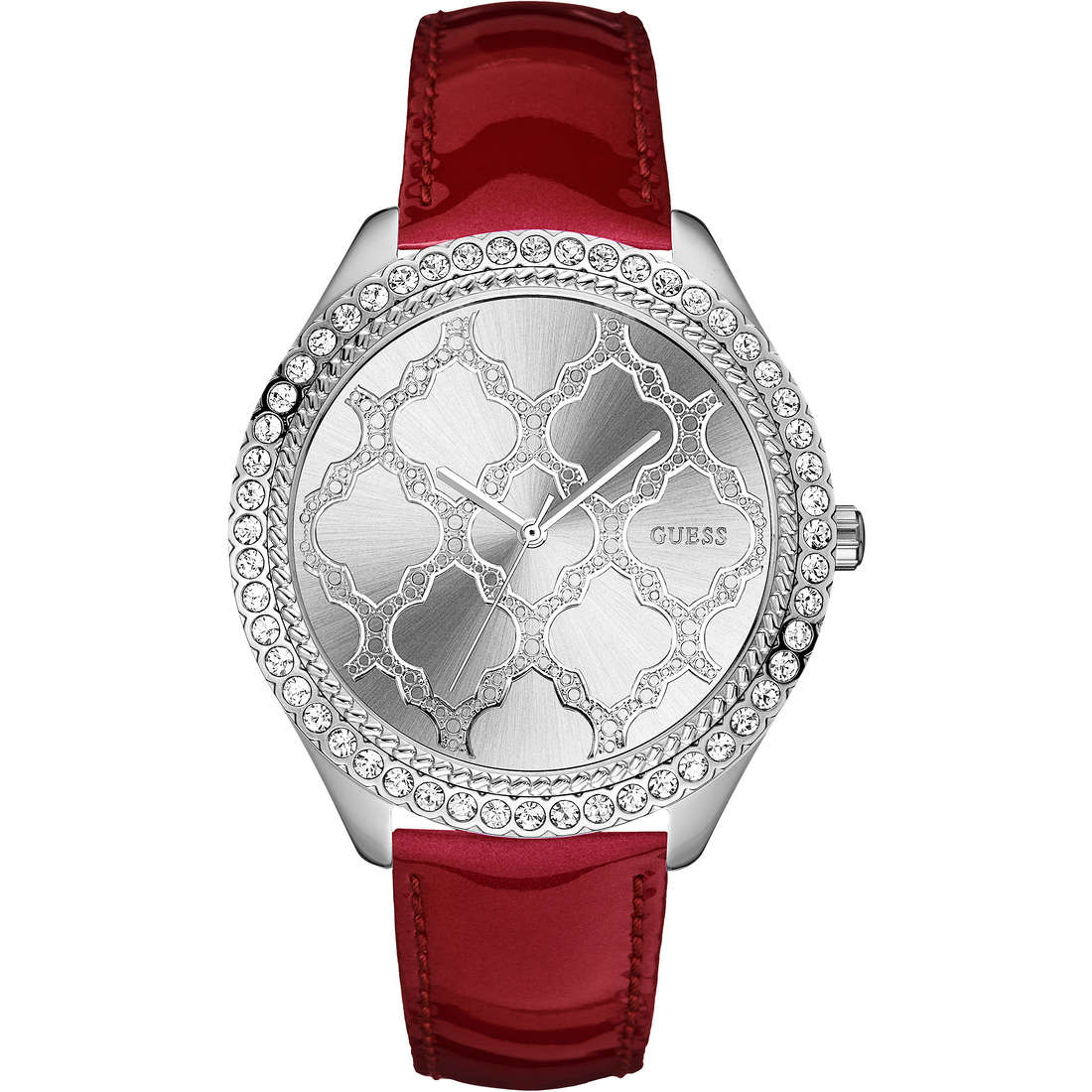 watch only time woman Guess W0579L4