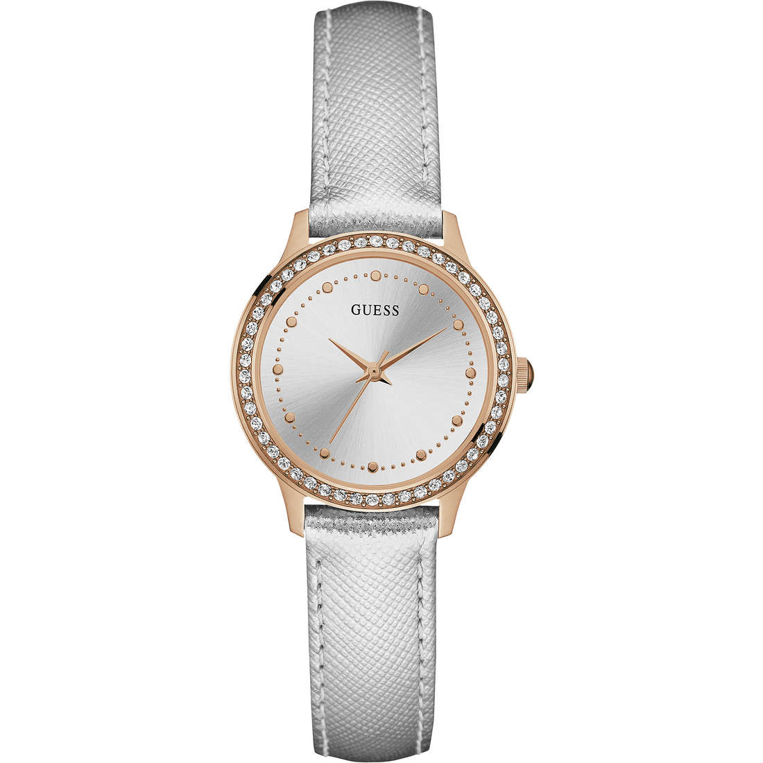 watch only time woman Guess W0648L11