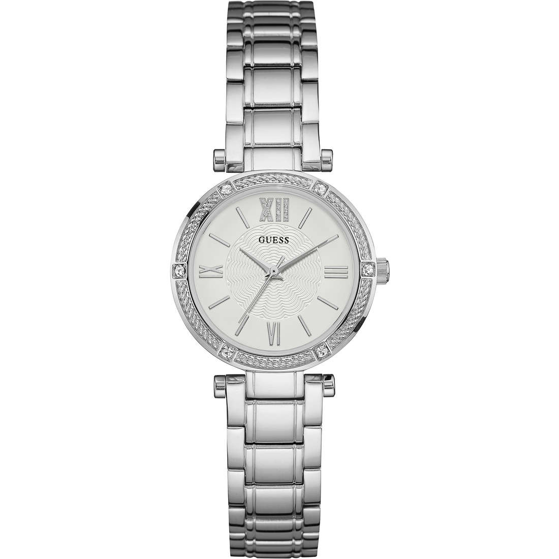 watch only time woman Guess W0767L1