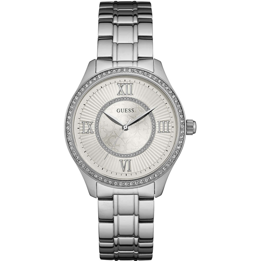 watch only time woman Guess W0825L1