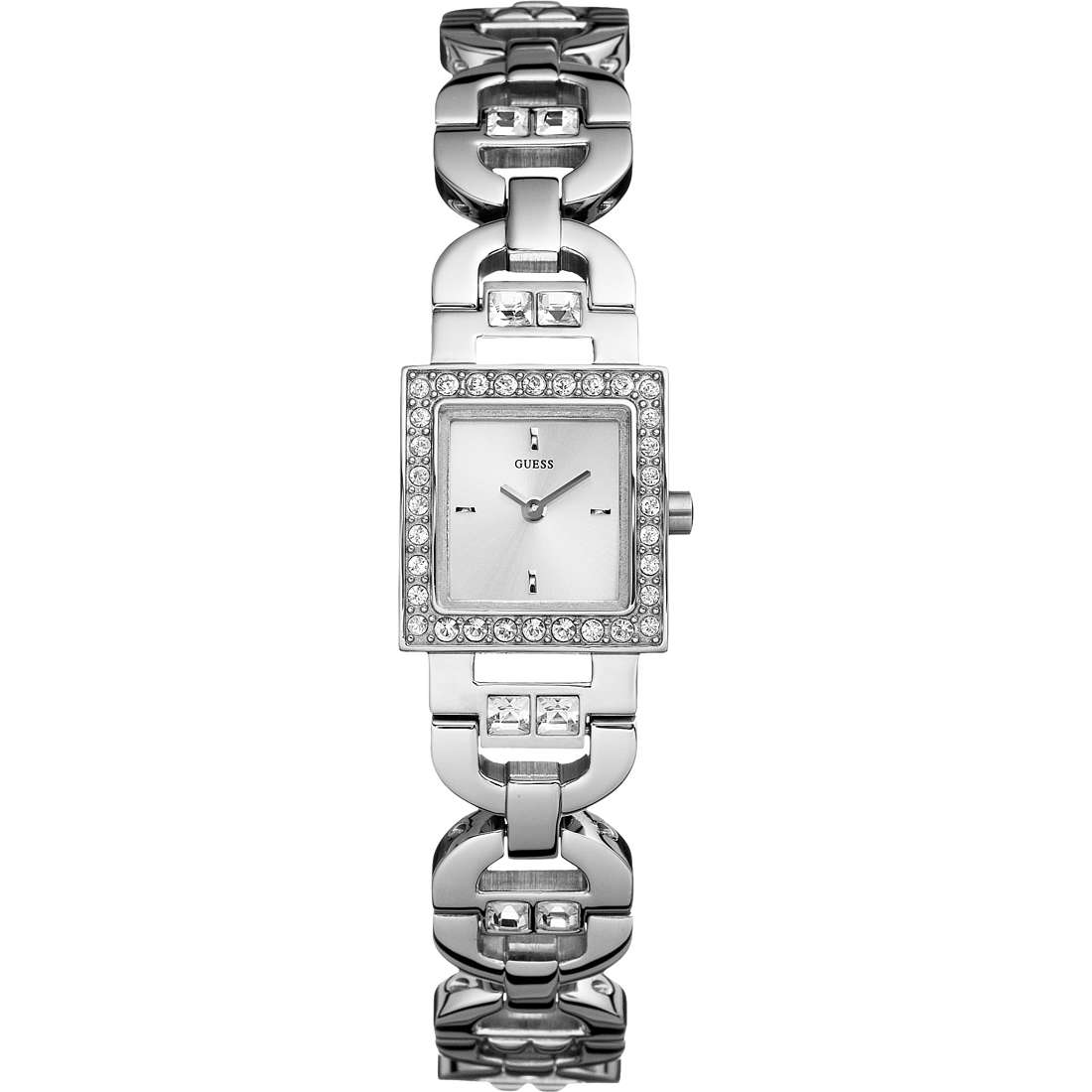 watch only time woman Guess W10234L1