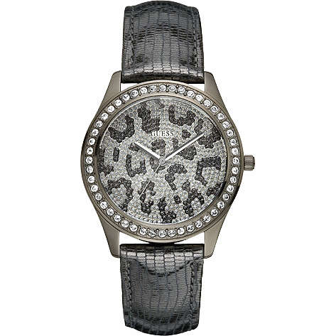 watch only time woman Guess W10239L1